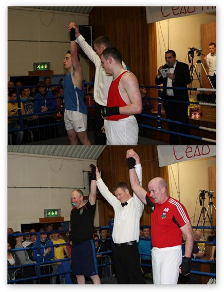 Garrymore White Collar Boxing Review