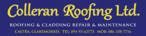 Colleran Roofing 8x2ft