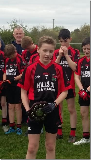 U-14 Captain Brian Og McTigue